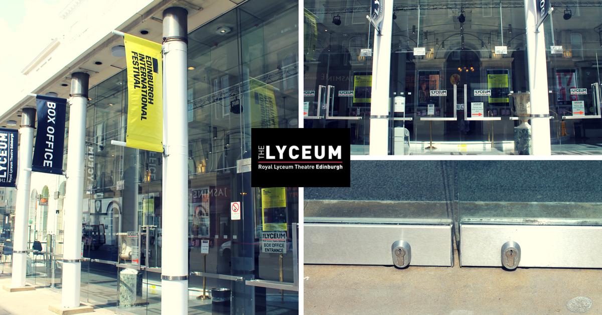 Manual Door Repair The Lyceum Edinburgh