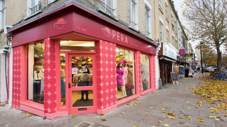 Bright RAL Colours Shop Fronts