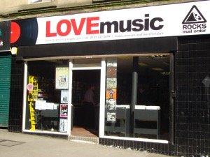 Love Music Glasgow Shops