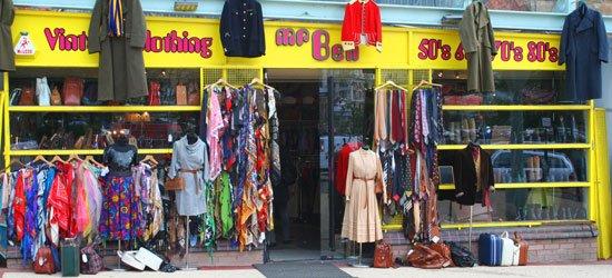 Mr Ben Vintage Clothing Glasgow Shops