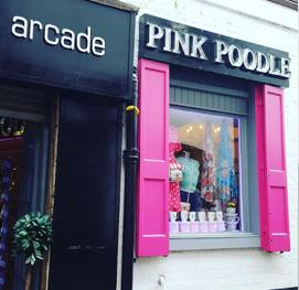 Pink Poodle Glasgow Shops