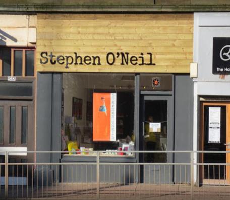 Stephen O'Neil Glasgow Shops