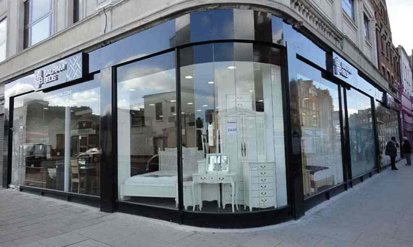 Toughened Glass Shop Front