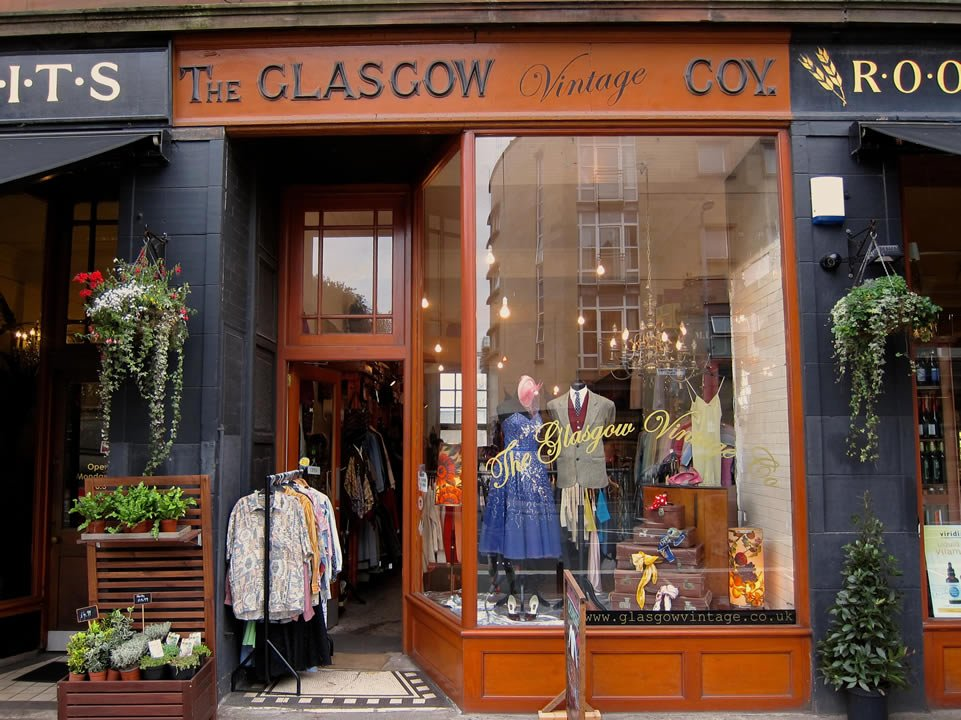 The Glasgow Vintage Company Glasgow Shops