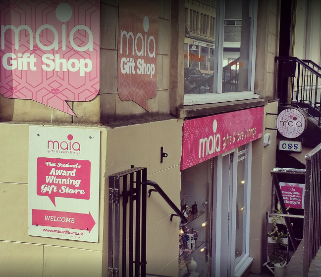 Maia Gift Shop Glasgow Shops
