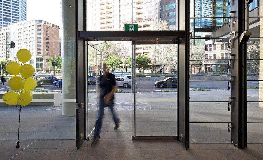 Swing Operator Automatic Door