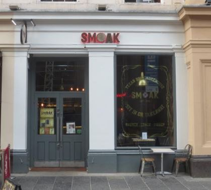SmoakBBQ Glasgow Disabled Access