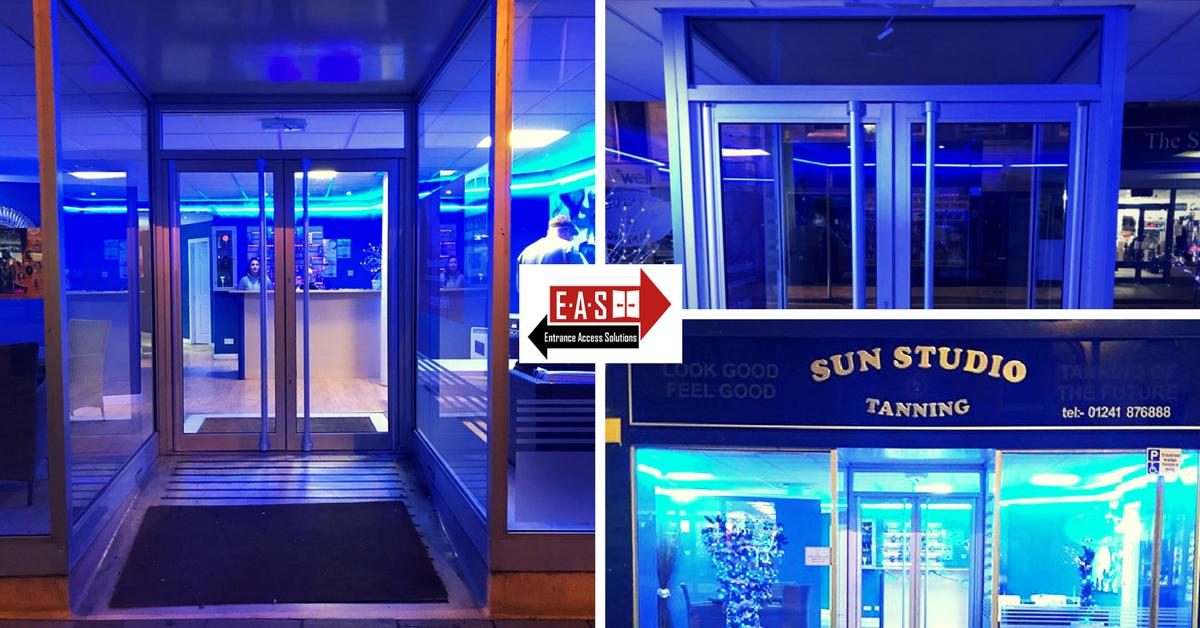 Manual-Doors-Tanning-Salon-East-Kilbride